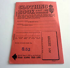 Clothing Book Unused Mint Condition with all the coupons inside