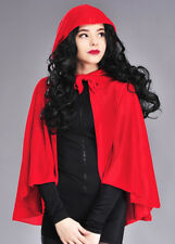 Adulto Terciopelo Red Riding Hood Cape