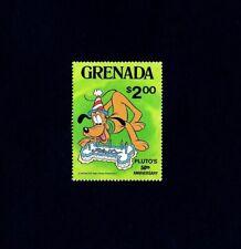 Grenada - 1981 - Disney - Pluto - 50th Anniversary - Cake - Mint - Mnh Single!