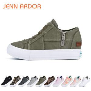 Women's Wedge Sneakers High Heel Wedge Platform Sneakers Comfort Walking Shoes