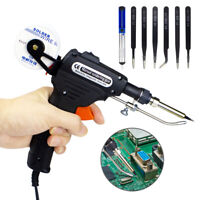 Manual Soldering Gun Electric Iron Auto Machine Kit 110V 60W Welding Repair Tool