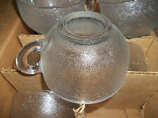 VINTAGE VIKING GLASS 12PC PUNCH CUP MUG SET - IN ORGINAL BOX - Perfect Condition