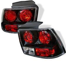 Ford 99-04 Mustang Black Rear Tail Lights Brake Lamp Set GT GTS SVT March