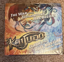 KAIJUDO SEALED BOX (1x CLASH OF THE DUEL MASTERS) 24 booster pack tcg ccg