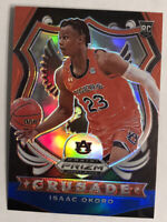 2020-21 Prizm Draft Picks ISAAC OKORO RC Crusade RED WHITE BLUE REFRACTOR MINT!!