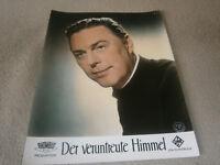 Kino Aushangfoto Portrait-  Der veruntreute Himmel - HANS HOLT