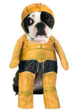 Pet Walking C3PO Robot Star Wars Classic Halloween Costume