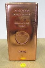 Kupfer Barren Kupferbarren 5 kg Fine 999,9 Fein  € 23,3 / 1kg  Zertifikat Edel