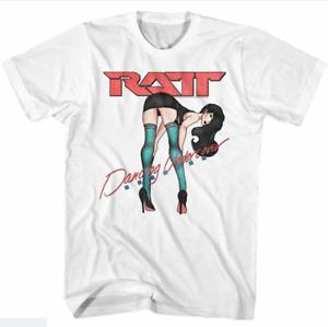 Ratt Dancing Undercover T-Shirt Funny Birthday Cotton Tee Vintage Gift Men Women
