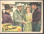 Land Of The Outlaws Lobby Card Color 11X14 Mack Brown Raymond Hatton