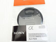 Sony JAPAN Original Camera Lens Front Cap 62mm ALC-F62S