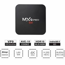 Mxq Pro 4K S905X 64-bit Android 6.1 1G+8Gb Ddr4 Hd 4K 3D Smart Tv Box 17.4