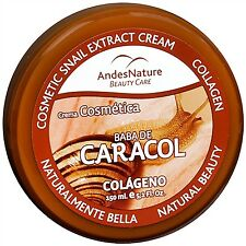 AN - BABA DE CARACOL SNAIL EXTRACT COLLAGEN CREAM ANTI AGEING ACNE STRETCH MARK