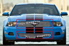 2010-2012 Ford Mustang V6 Billet Grille-Combo