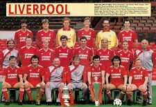 LIVERPOOL FOOTBALL TEAM PHOTO>1986-87 SEASON