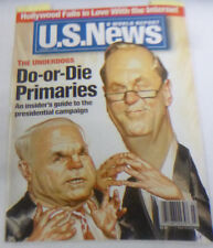 U.S. News Magazine Do Or Die Primaries January 2000 NO ML 043014R