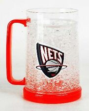 NBA, 16oz Crystal Freezer Mug, New Jersey Nets, NEW