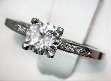 NEW $7500 TACORI PLATINUM .77ct Very Clean SI1 G EGL USA Round Bril Diamond Ring
