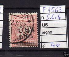 FRANCOBOLLI ITALIA REGNO USATI S.C. N°4 (F1563)