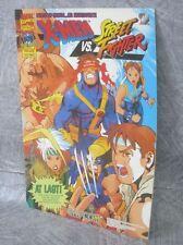 CAPCOM SECRET FILE X-MEN vs. STREET FIGHTER Brochure Art Arcade Ltd Book