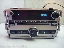 07 2007 08 2008 Chevrolet Equinox Radio 6 Disc Cd & Aux Port 15293277 RE3306