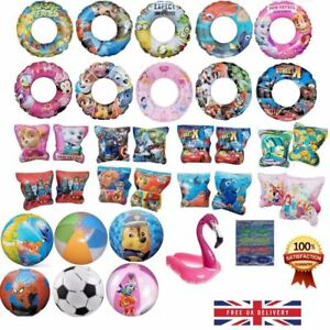 Kids Inflatable Floats Swimming Holiday Armbands/Beach Balls/Rings 3-6 Year Olds