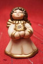 THUN Engel BOZNER Engel STERN  7,5 cm hoch *TOP* natur+gold Weihnachten / Advent