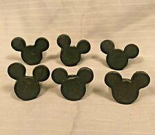 Custom Made Welded Iron Disney-Themed Mickey Mouse Napkin Rings - Set of 6