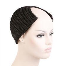 Creamily U-part Wigs Cornrows Braided Caps Crochet Braids Weaves Combs Weaving