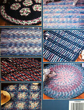 Variegated Rgus to crochet: 8 triple-strand rug designs by anne halliday LA2992