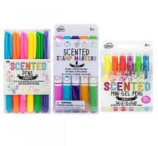 Scented Stamp Markers, Smelly Pens & Mini Gel Pen Set