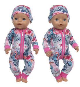 New Clothes for BABY BORN Dolls 2 Piece Outfit So Cute Birthday Present Gift