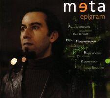 CD NEUF scellé - META - EPIGRAM / Digipack-C72