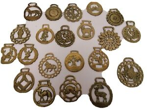 Job Lot rare horse brasses collection vintage