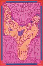 MINT Frank Zappa/Mothers 1967 ORIGINAL BG 50 Fillmore Poster