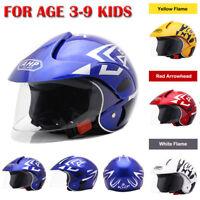 Children's Motorcycle Helmet Bike Warm Comfortable Safety Helmet For AGE 3-9 New