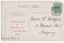 Master L Ackford Market Street Torquay 1904  311a