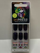 KISS imPRESS NAILS Press-On Manicure ~Sugar Skuls