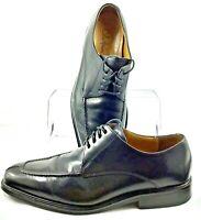 Cole Haan Air Jackson Oxford Men 9.5W Black Leather Split Toe Lace Up Dress Shoe