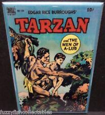 "Tarzan #10 Vintage Comic Book Cover 2"" x 3"" Fridge Locker MAGNET Burroughs"