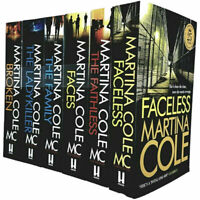 Martina Cole 6 Books Collection Set Broken, Ladykiller, Family, Faces PB NEW