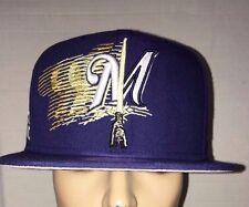 New Era Milwaukee Brewers Star Wars Logoswipe Lightsaber Snapback Hat Cap LE