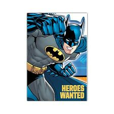 8 DC Batman Comic Birthday Party Invite Invitations Cards plus Envelopes