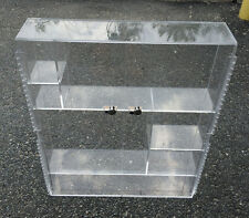 Plexiglass 2-Door Wall Hanging Supply Case 29x23x5""