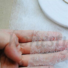 1M DIY Iron Fusible Double Sided Glue Tape Buckram Interfacing Fabric