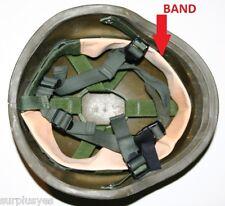 Helmet Strap Liner USMC Army Military Leather Harness Kevlar PASGT Gentex w P38