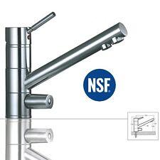 3-Wege-Wasserhahn SATURN, Chrom für AMWAY eSpring Wasserfilter geeignet Armatur