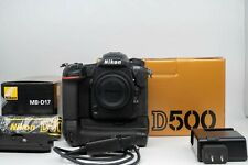 Nikon D500 20.9MP DSLR Body with Nikon Vertical Battery Grip and Extras