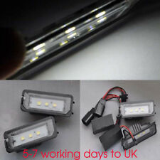 2x LED SMD License Plate Light For VW Golf 6 VI 5 V GTI GT R R32 1K TSI TSI leon