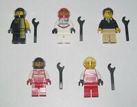 Lego ® Minifigure Figurine Speed Champion Choose Minifig NEW